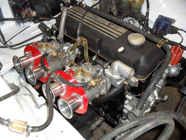 44 Doppelvergaser Motor